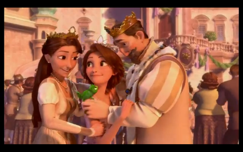 Ranpunzel And Her Parents