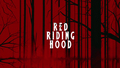 Red Riding capuz, capa wallpaper