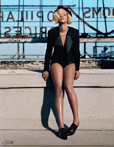리한나 - Photoshoots - British Vogue 2011