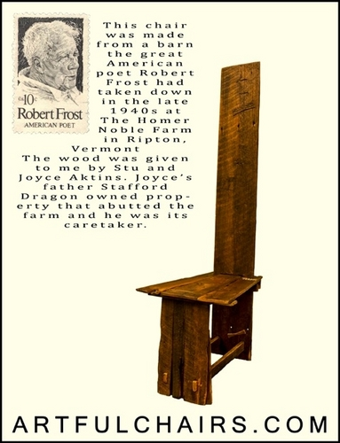 Robert Frost Chair