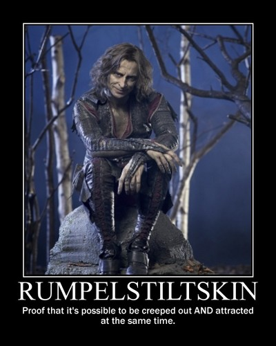 Rumpelstiltskin - once-upon-a-time Fan Art