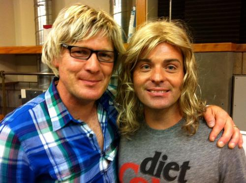 """Ryan: """"Scandinavian Thunder"""" last night. Here are Anders & Lars"""