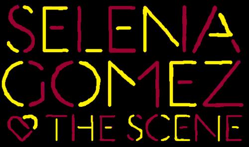 Selena Gomez & The Scene - kiss & Tell Logo
