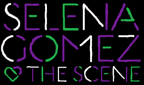 Selena Gomez & The Scene - Kiss & Tell Logo