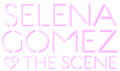Selena Gomez & The Scene - kiss & Tell-style Logo