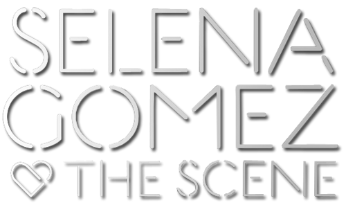 Selena Gomez & The Scene fondo de pantalla possibly containing a sign and anime entitled Selena Gomez & The Scene - kiss & Tell-style Logo