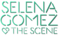 Selena Gomez & The Scene - Kiss & Tell-style Logo - selena-gomez-and-the-scene fan art