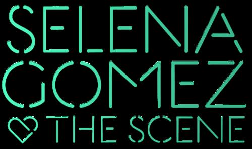Selena Gomez & The Scene - kiss & Tell-style Logo