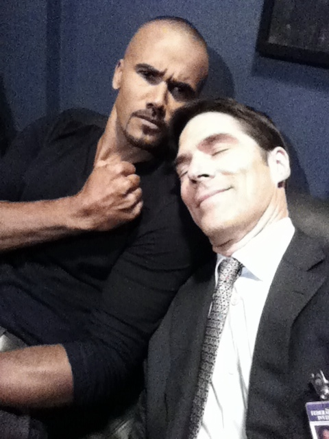 Shemar Moore & Thomas Gibson - Criminal Minds Photo ...