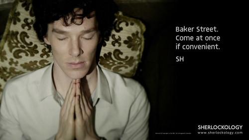 Sherlock in der BBC Hintergrund probably containing a business suit called Sherlock