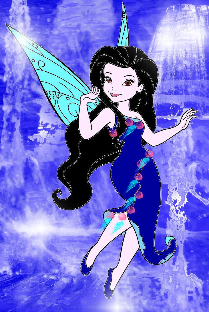 Silver Mist- fairy of water