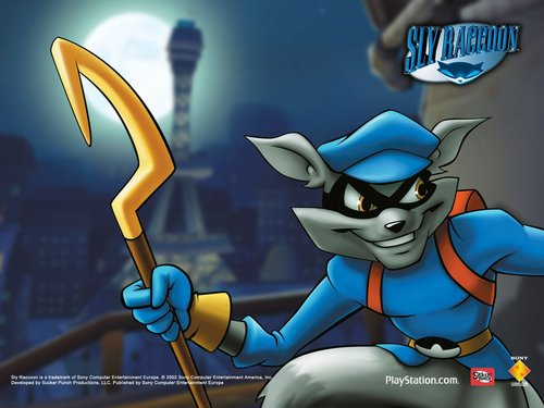 Sly Cooper wallpaper.