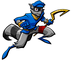 Sly action icon. - sly-cooper icon