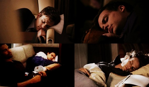 Spencer Reid Sleeping
