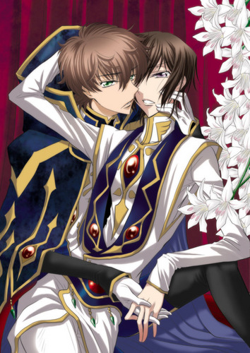 Suzaku and Lelouch