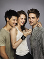Taylor, Kristen, Robert - twilight-series photo