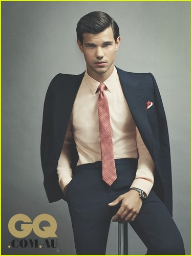 Taylor Lautner Covers 'GQ Australia' October/November 2011