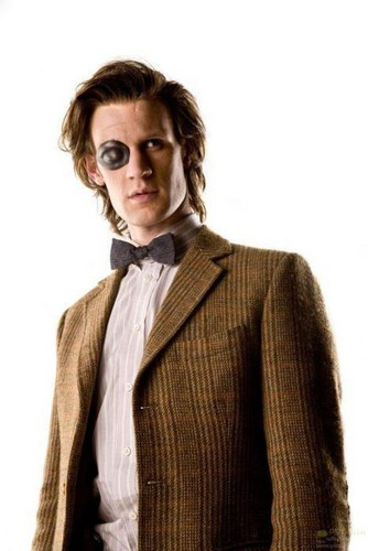 The Eleventh Doctor achtergrond probably containing a business suit called The Eleventh Doctor♥