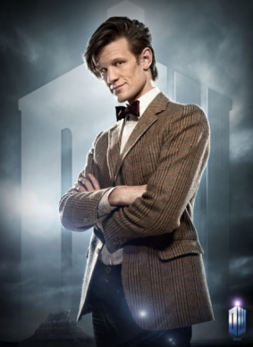 The Eleventh Doctor karatasi la kupamba ukuta with a business suit called The Eleventh Doctor!