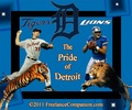 The Pride of Detroit - design fan art