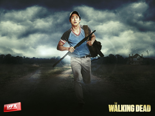 The Walking dead wallpaper titled Glenn