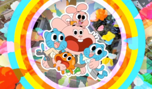 The Amazing World of Gumball achtergrond called The Wattersons