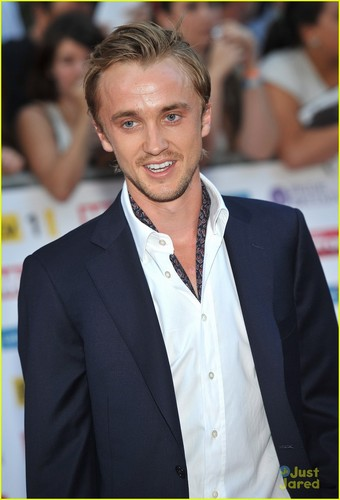 Tom Felton Shows Pride For Britain