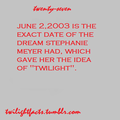 Twilight Facts