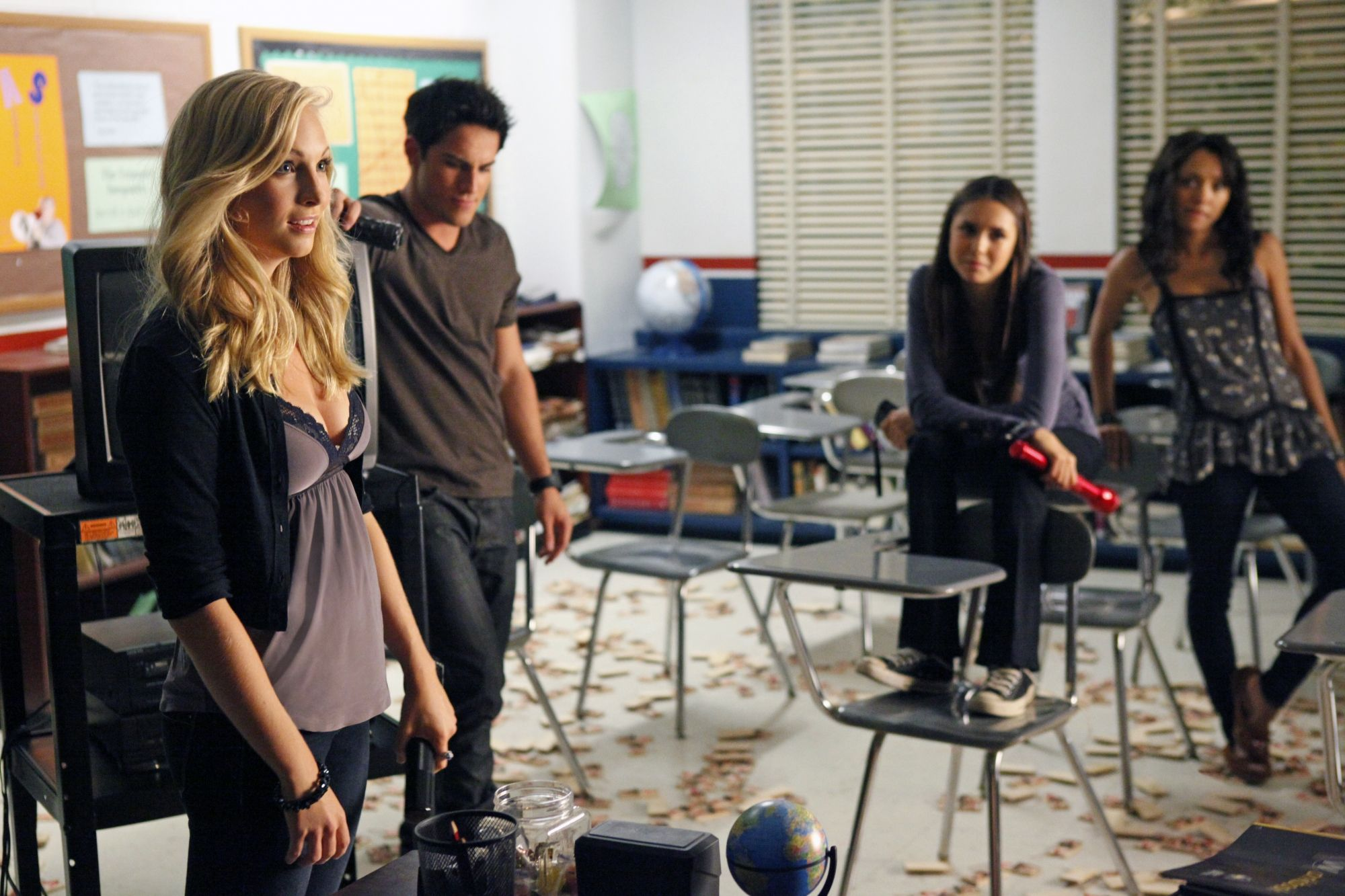 "Tyler and Caroline - 3x05 ""The Reckoning"" HD Stills"