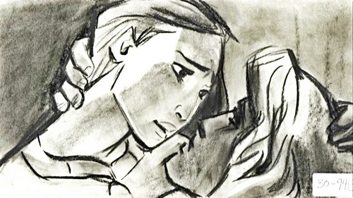 Walt Disney Sketches - Pocahontas & John Smith