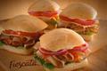 Wendy's Frescata sandwiches