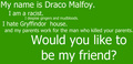 Would you like to be my friend? (:
