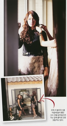 Yoona for InStyle October issue 2011