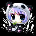 Chibi Anime panda