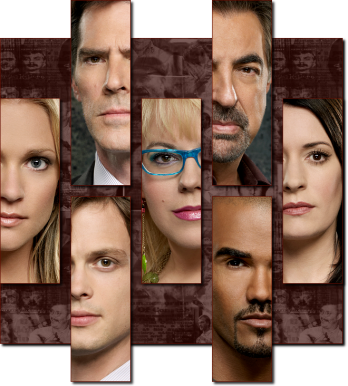 Criminal Minds achtergrond entitled criminalminds cast