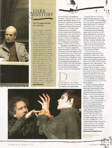 dark shadows, magazine