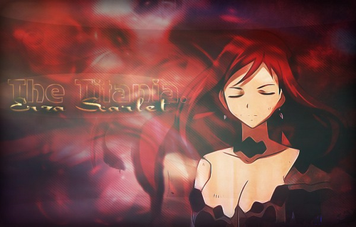Erza and Lucy Обои possibly containing Аниме called erza