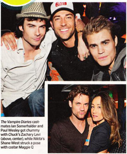 ian, paul and zac + nikita actors