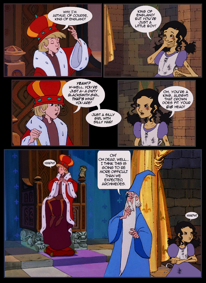 isney's Sword in the Stone Arthur/Guinevere Comic
