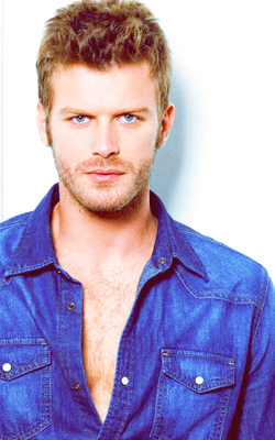 kivanc wearing blue