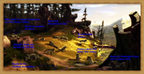 locations at Jasper park.