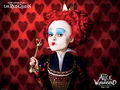 red queen - alice-in-wonderland-2010 wallpaper