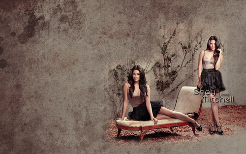Pretty Little Liars la serie tv wallpaper titled shey