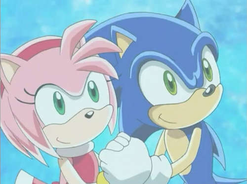 sonic and amy :)