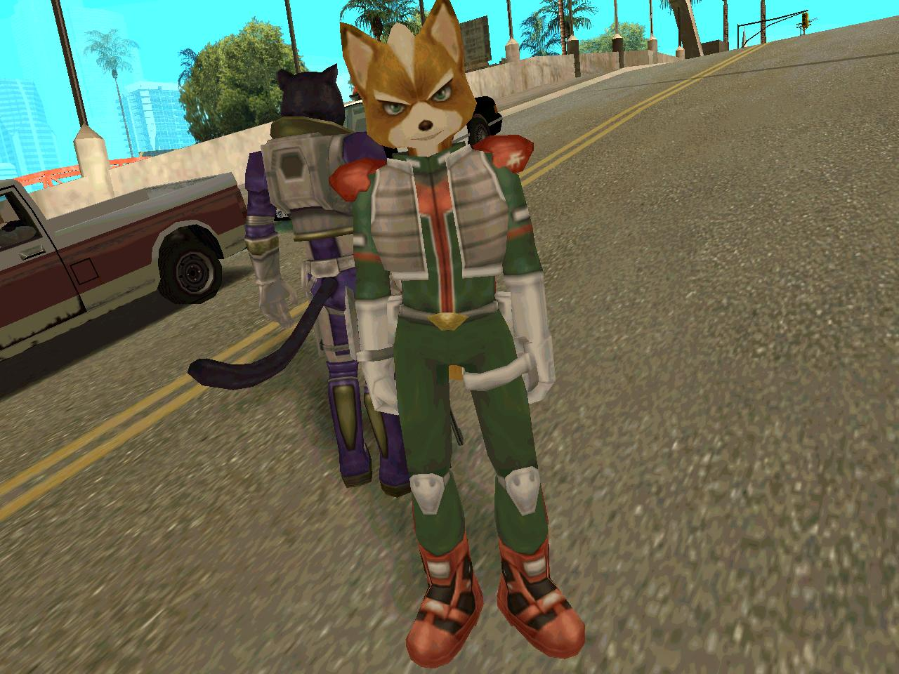 gta san andreas images star fox mods hd wallpaper and background
