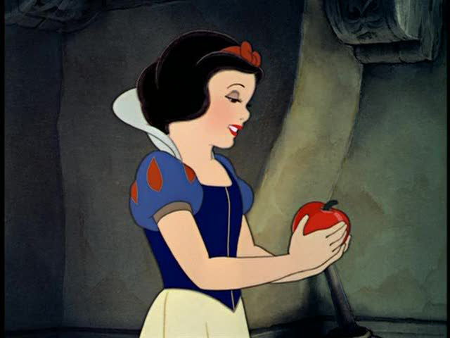 snow white and apple white