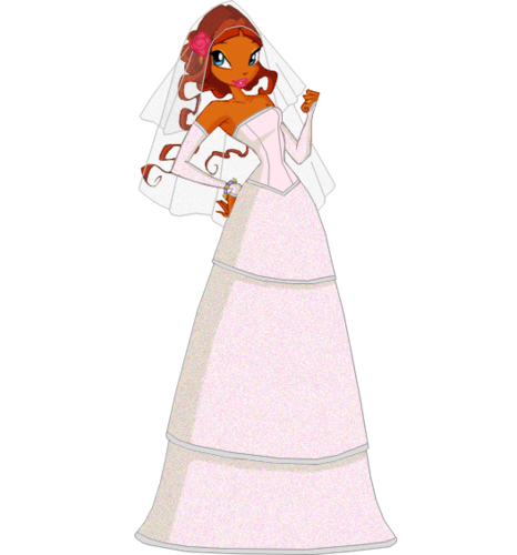The Winx Club Images Winx Wedding Fanart Wallpaper And