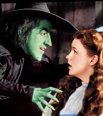 The Wicked Witch Confronts Dorothy