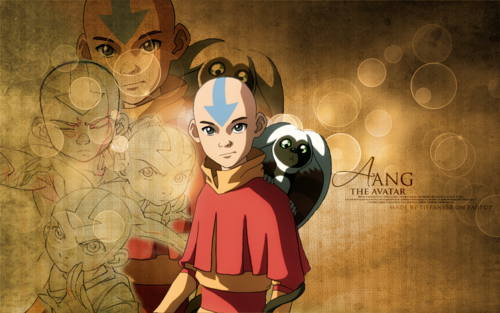 Avatar: The Last Airbender achtergrond called Aang ~ ♥