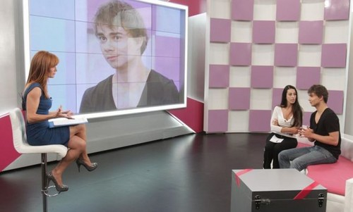 "Alex on the Greek tv ipakita ""Pame Paketo"""